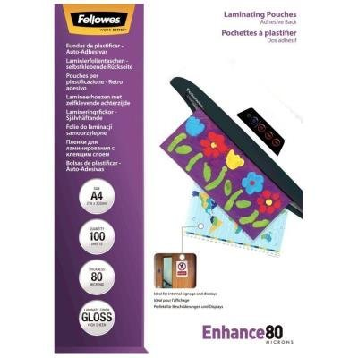 Laminovací fólie Fellowes Enhance80 A4