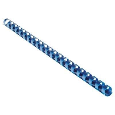 Eurosupplies plastový hřbet 22mm modrý