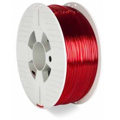 Verbatim PETG 2,85mm červeno-průhledné