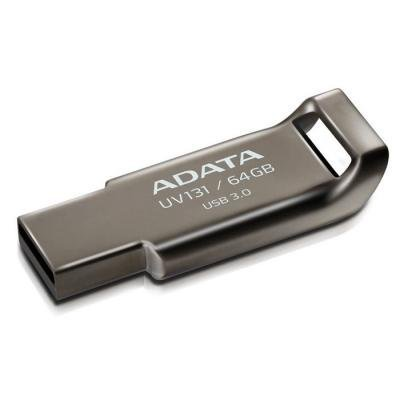 ADATA DashDrive Durable UV131 64GB / USB 3.0 / šedá