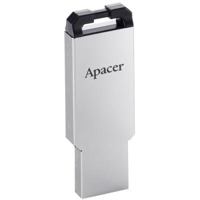 APACER USB Flash disk AH310 16GB / USB2.0 / stříbrná