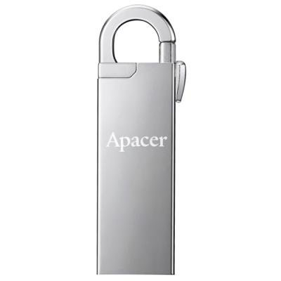 APACER USB Flash disk AH13A 16GB / USB2.0 / stříbrná