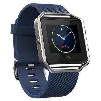 Fitness náramek Fitbit Blaze vel. L modrý