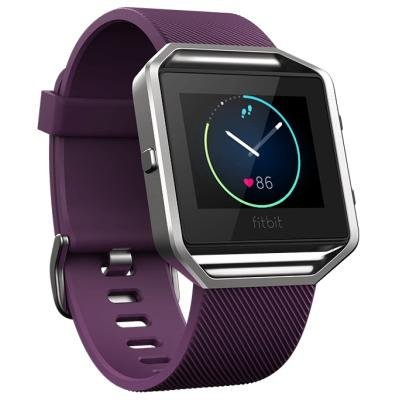 Fitness náramek Fitbit Blaze vel. L fialový