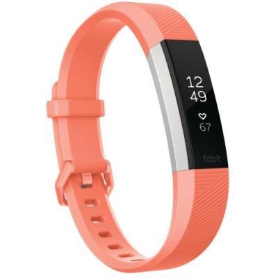 Fitness náramek Fitbit Alta HR vel. S oranžový