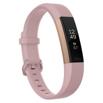 Fitness náramek Fitbit Alta HR vel. S růžový