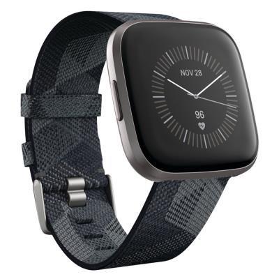 Fitbit Versa 2 Special Edition (NFC) - Smoke Woven  Chytré hodinky