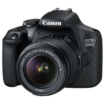 Zrcadlovka Canon EOS 2000D + EF-S 18-55mm DC III