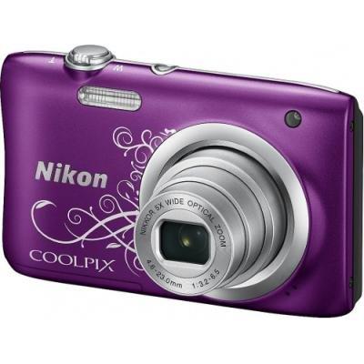 Digitální fotoaparát Nikon Coolpix A100 fialový