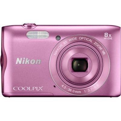 Digitální fotoaparát Nikon Coolpix A300 růžový