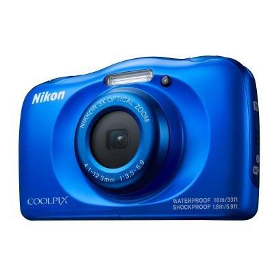 Digitální fotoaparát Nikon Coolpix W100 modrý
