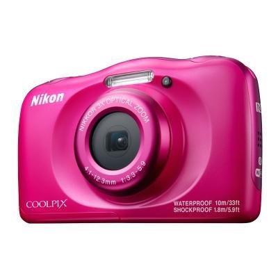 Digitální fotoaparát Nikon Coolpix W100 růžový