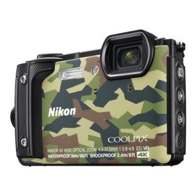 Digitální fotoaparát Nikon Coolpix W300 kamufláž