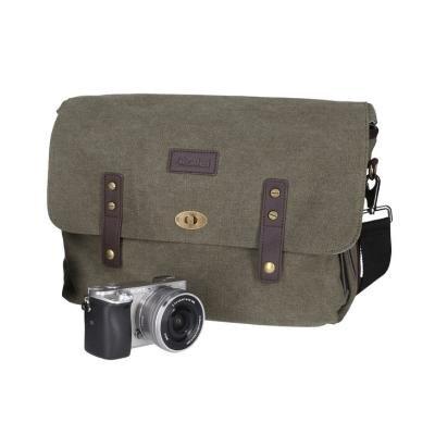 """Brašna Rollei Vintage Camera bag 13"""" zelená"""