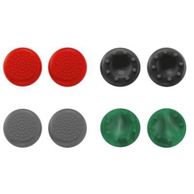 Trust GXT 264 Thumb Grips 8-pack for Xbox One úchyty / pro ovladač konzole Xbox One / 8-pack / červená / černá / šedá /