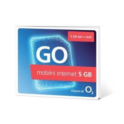 SIM karta O2 předplacený 5GB