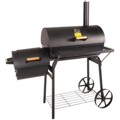 G21 gril na dřevěné uhlí BBQ big s udírnou/ grilovací plocha 2360 cm2