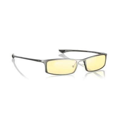 GUNNAR kancelářské brýle PHENOM GRAPHITE/ grafitové obroučky/ jantarová skla