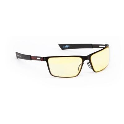 GUNNAR herní brýle STRIKE ONYX  FIRE/ černočervené obroučky/ jantarová skla
