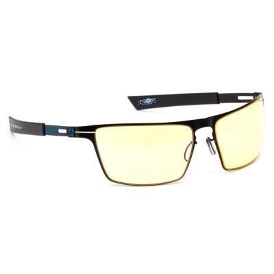 POŠKOZENÝ OBAL - GUNNAR herní brýle SIEGE ONYX  ICE/ černomodré obroučky/ jantarová skla