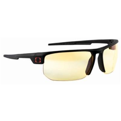 GUNNAR herní brýle TORPEDO ONYX / černé obroučky/ jantarová skla