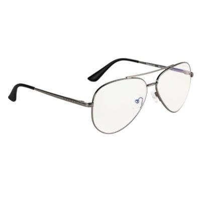GUNNAR herní brýle MAVERICK GUNMETAL / tmavě šedé obroučky/ světlá skla