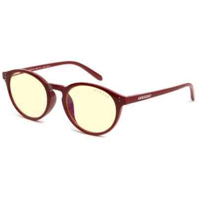 Brýle GUNNAR ATTACHÉ DARK RED