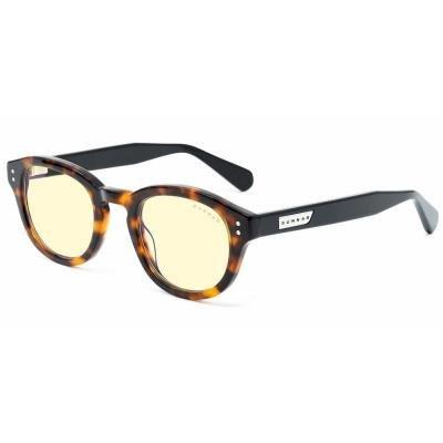 GUNNAR kancelářské brýle EMERY Tortoise Onyx/ hnědo-černé obroučky/ jantarová skla