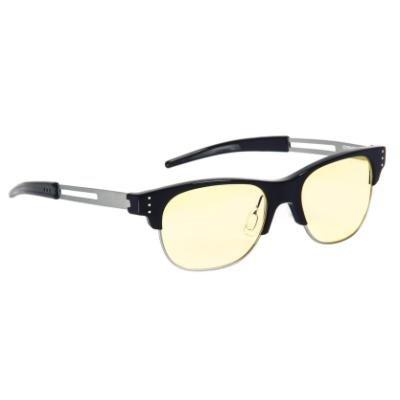 GUNNAR herní brýle Cypher / obroučky v barvě ONYX / jantarová skla