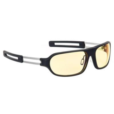 GUNNAR herní brýle Trooper / obroučky v barvě ONYX / jantarová skla