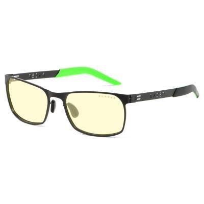 GUNNAR herní brýle RAZER FPS / obroučky v barvě ONYX / jantarová skla