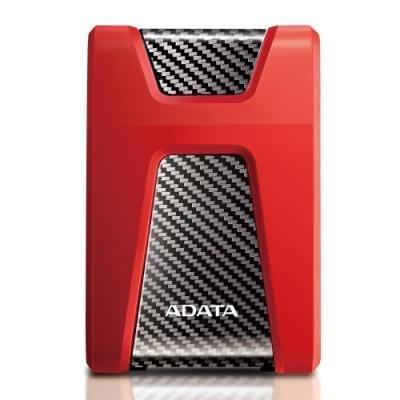 Pevný disk ADATA HD650 2TB červený