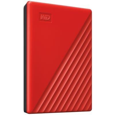 """WD My Passport 2TB HDD / Externí / 2,5"""" / USB 3.0 / červený"""