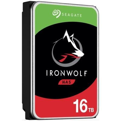 "Seagate IronWolf 16TB HDD / ST16000VN001 / Interní 3,5"" / 7200 rpm / SATA 6Gb/s / 256MB /"