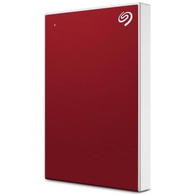 """SEAGATE Backup Plus SLIM 2TB / 2,5"""" / USB3.0 / externí HDD / červený"""
