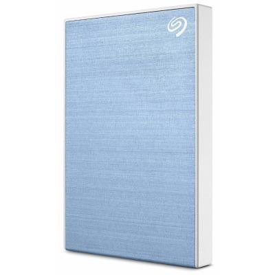 Seagate One Touch 2TB světle modrý