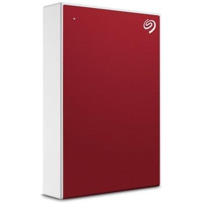 Seagate One Touch 4TB červený