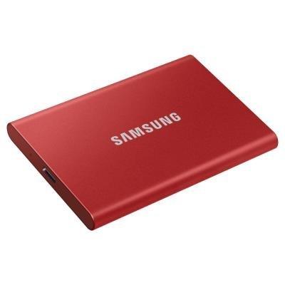Samsung T7 500GB červený