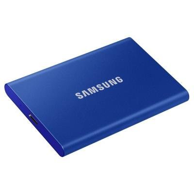 Samsung T7 500GB modrý