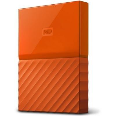 Pevný disk WD My Passport 1TB oranžový