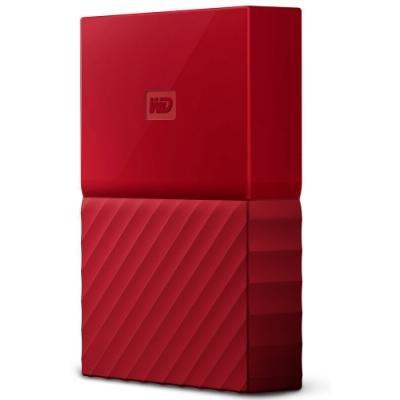 Pevný disk WD My Passport 4TB červený