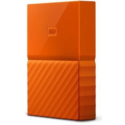Pevný disk WD My Passport 4TB oranžový