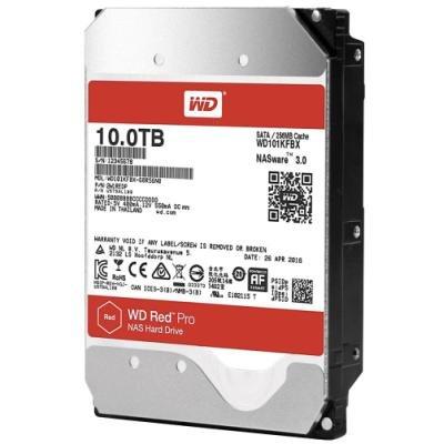 WD HDD RED Pro 10TB / WD101KFBX / SATA 6Gb/s / Interní 3,5