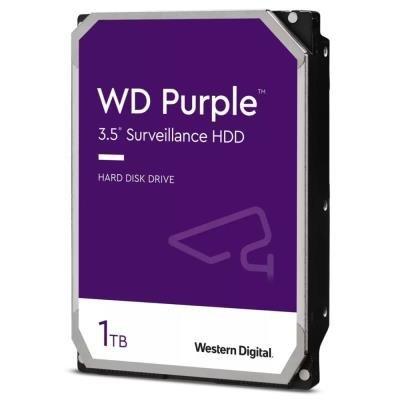WD HDD PURPLE 1TB / WD10PURZ / SATA 6Gb/s / Interní 3,5