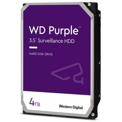 WD HDD PURPLE 4TB / WD40PURZ / SATA 6Gb/s / Interní 3,5