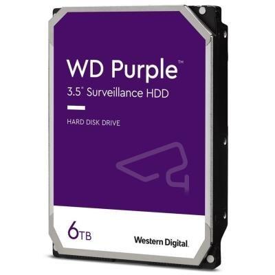 WD HDD PURPLE 6TB / WD60PURZ / SATA 6Gb/s / Interní 3,5