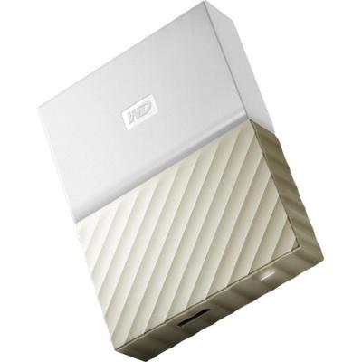 Pevný disk WD My Passport Ultra 4TB bílo-zlatý