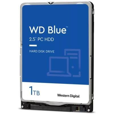 "WD HDD BLUE 1TB / WD10SPZX / SATA 6Gb/s / Interní 2,5"" / 5400rpm / 128MB"