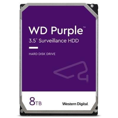 WD HDD PURPLE 8TB / WD82PURZ / SATA 6Gb/s / Interní 3,5