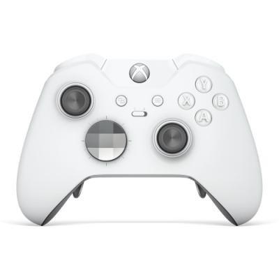 Gamepad Microsoft pro Xbox One S Elite bílý